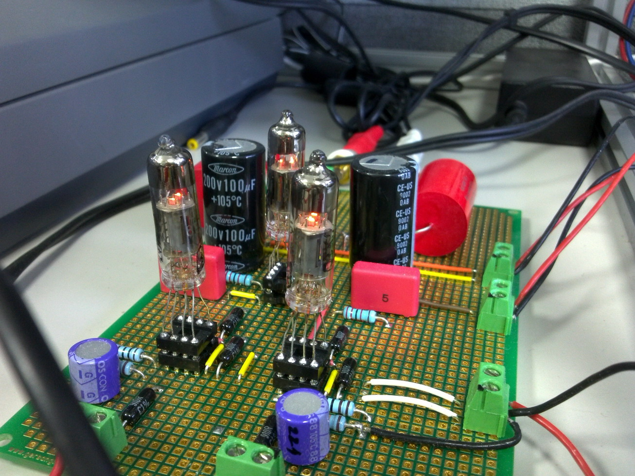 08-6N16B-V Preamp under the test-4.jpg